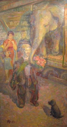 """Картины с Выставки """"Мой взгляд"""": Возвращение Карандаша"""