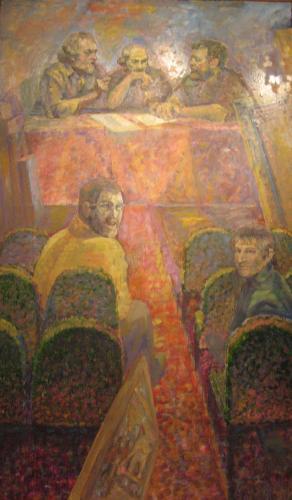 """Картины с Выставки """"Мой взгляд"""": Заседание продолжается..."""