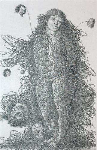 Графика Бориса Непомнящего