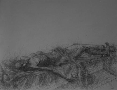 """Иллюстрации к книге Ф.М. Достоевского """"Записки из мертвого дома"""""""