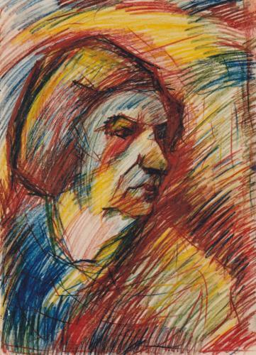 Портрет мелком