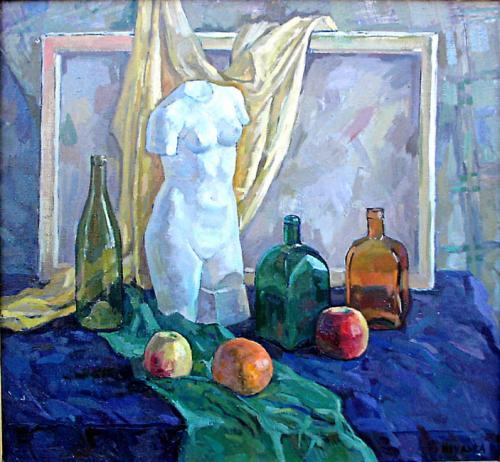 Натюрморт . 83 x 90, х.м. 1998 г