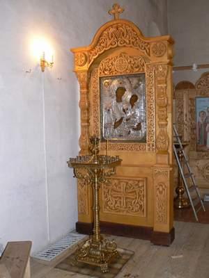 Иконостас в г. Холм