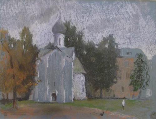 Осень. Церковь 12 апостолов