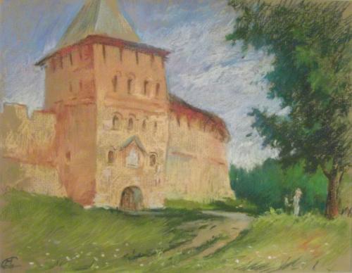 У Владимирской башни