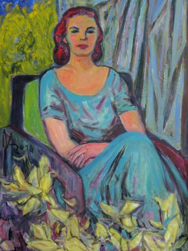Жена художника