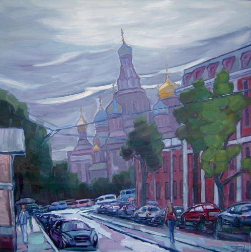 Санкт-Петербург. Серый день