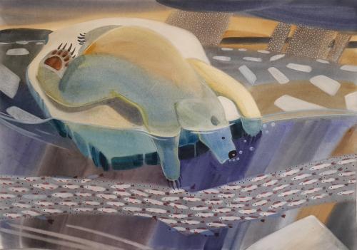 Удивительная жизнь полярного медведя (триптих)